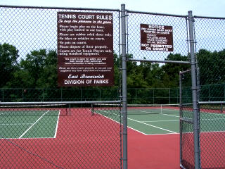East Brunswick Parks: Lenape Park Tennis Courts