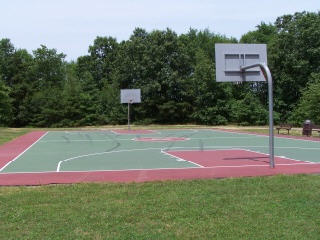 East Brunswick Parks: Lenape Park Basketball Court